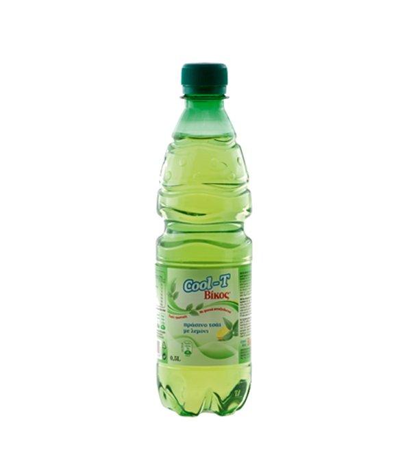 cool t πράσινο τσάι λεμόνι 0 5 lt βίκος αναψυκτικά